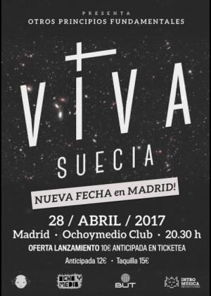 Concierto de Viva Suecia en Madrid