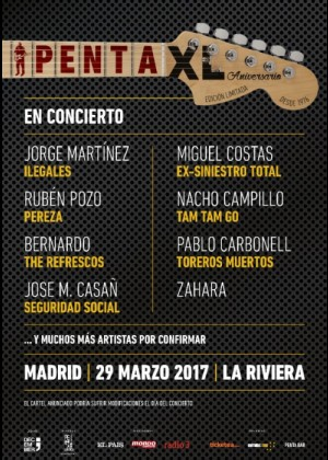 Concierto de Penta XL  en Madrid