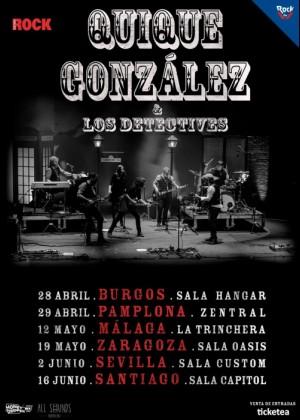 Concierto de Quique González en Zaragoza