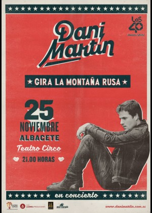 Concierto de Dani Martín en Albacete