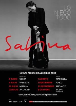Concierto de Joaquín Sabina en Valencia