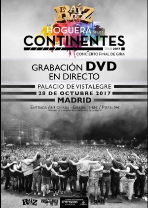 Concierto de La Raiz en Madrid