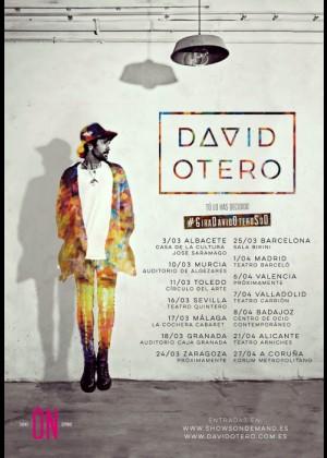 Concierto de David Otero en Badajoz