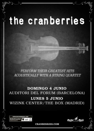 Concierto de The Cranberries en Barcelona