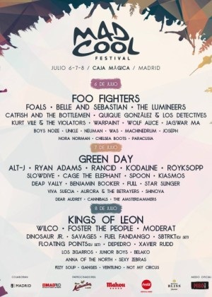 Cartel de Mad Cool Festival 2017