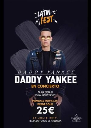 Concierto de Daddy Yankee en Valencia
