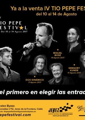 Concierto de Miguel Bosé en Jerez de la Frontera