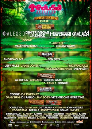 Cartel de Medusa Sunbeach 2017