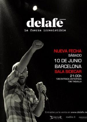 Concierto de Delafé en Barcelona