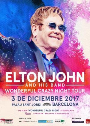 Concierto de Elton John en Barcelona