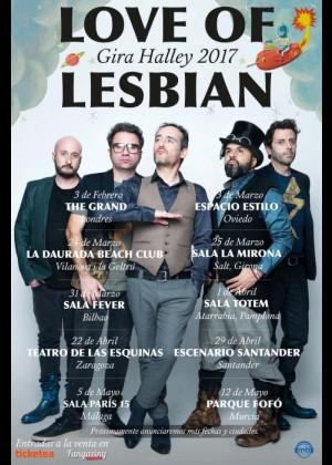 Concierto de Love of Lesbian en Madrid