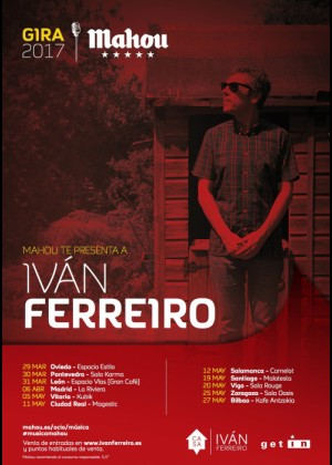 Concierto de Ivan Ferreiro en Zaragoza