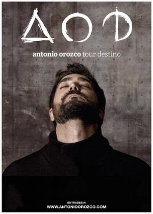Concierto de Antonio Orozco en Barcelona