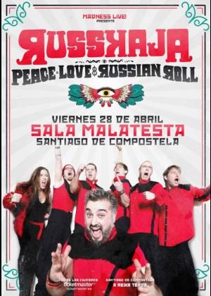Concierto de Russkaja en Santiago de Compostela
