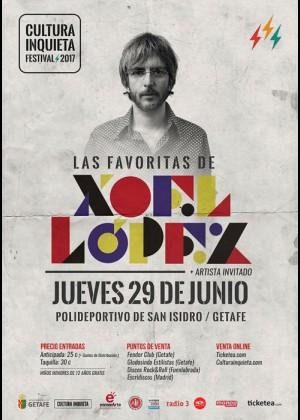 Concierto de Xoel López en Getafe