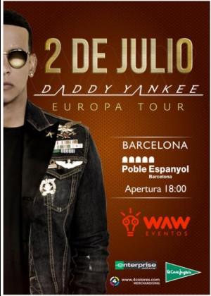 Concierto de Daddy Yankee en Barcelona