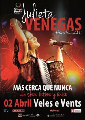 Concierto de Julieta Venegas en Valencia