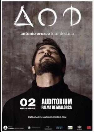 Concierto de Antonio Orozco en Palma de Mallorca