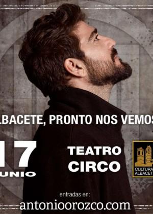 Concierto de Antonio Orozco en Albacete
