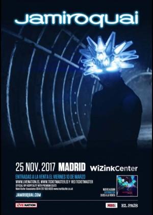 Concierto de Jamiroquai en Madrid