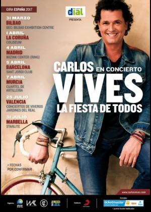 Concierto de Carlos Vives en Valencia