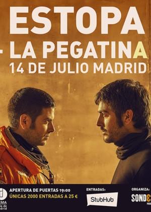 Concierto de Estopa + Pegatina en Madrid