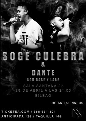 Concierto de Soge Culebra en Bilbao