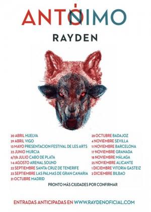Concierto de Rayden en Badajoz