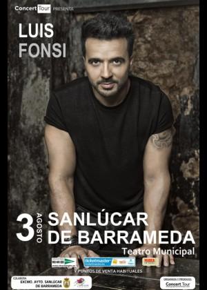 Concierto de Luis Fonsi en Sanlúcar de Barrameda