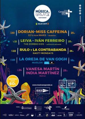 Concierto de Dorian + Miss Caffeina en Santander