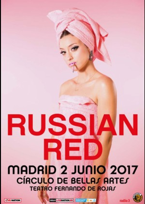 Concierto de Russian Red en Madrid