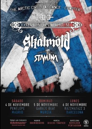 Concierto de Omnium Gatherum en Madrid