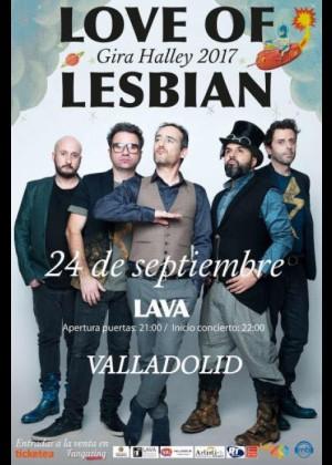 Concierto de Love of Lesbian en Valladolid