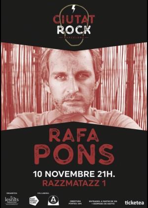 Concierto de Rafa Pons en Barcelona