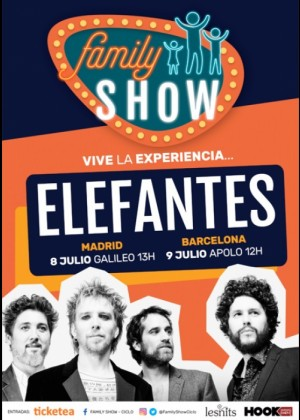 Concierto de Elefantes en Madrid