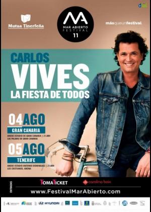 Concierto de Carlos Vives en Tenerife