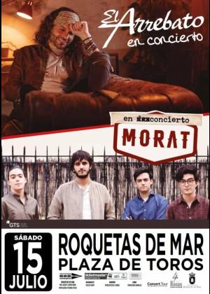 Concierto de El Arrebato + Morat en Roquetas del Mar