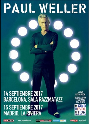 Concierto de Paul Weller en Madrid
