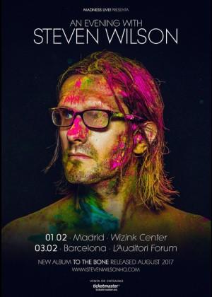Concierto de Steven Wilson en Madrid