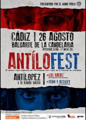 Concierto de Antílopez en Cádiz