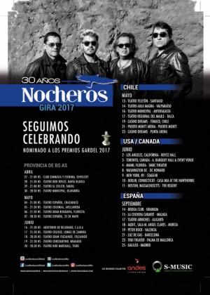 Concierto de Los Nocheros en Málaga