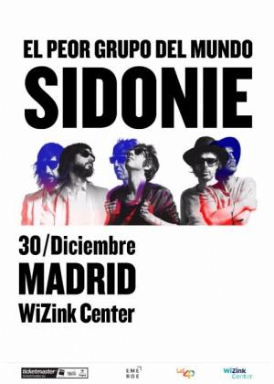 Concierto de Sidonie en Madrid