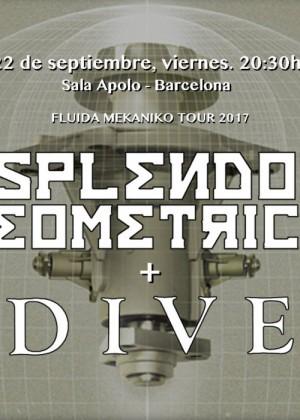 Concierto de Esplendor Geométrico en Barcelona