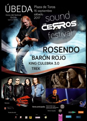 Cartel de  Los Cerros Sound Festival 2017