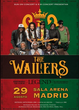 Concierto de The Wailers en Madrid
