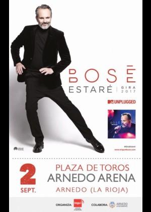 Concierto de Miguel Bosé en Arnedo