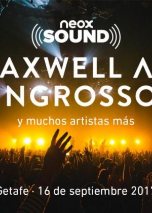 Cartel de Festival Neox Sound 2017