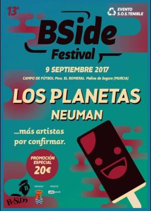 Cartel de B SIDE Festival 2017