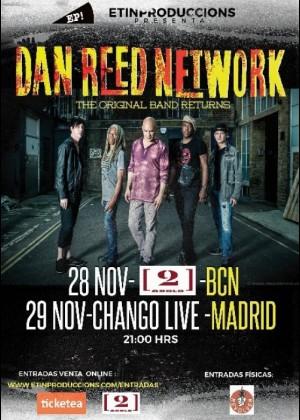 Concierto de Dan Reed Network en Barcelona