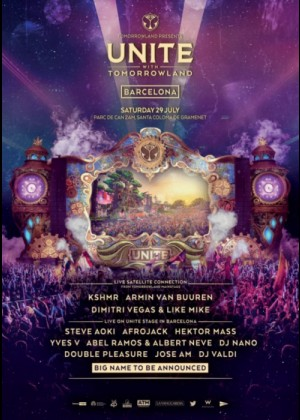 Cartel de Tomorrowland Spain 2017